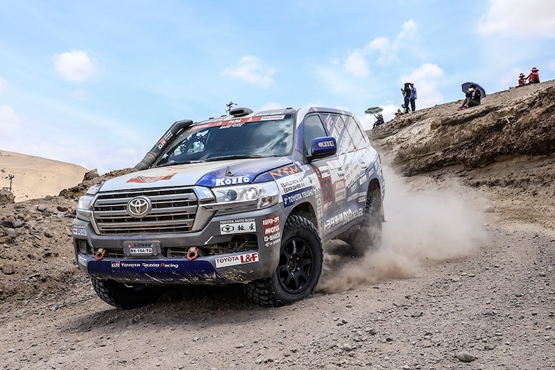 Rajd Dakar 2019 Toyota Land Cruiser Auto Body