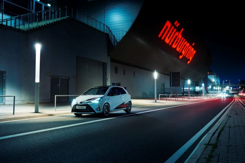 Hot hatch Toyoty  -Yaris GRMN na Nurburgringu